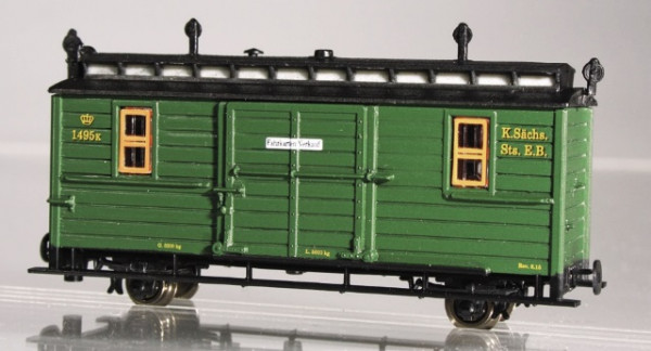 IK-Zug: Packwagen 1495K